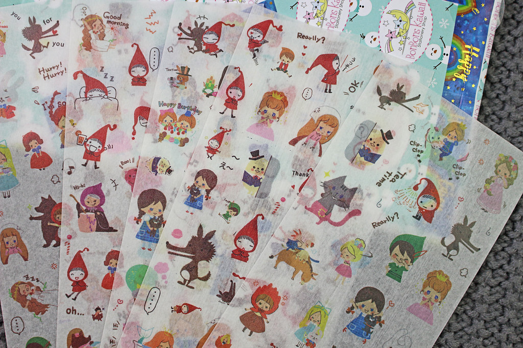 Bonbons Kawaii Sticker Sheets