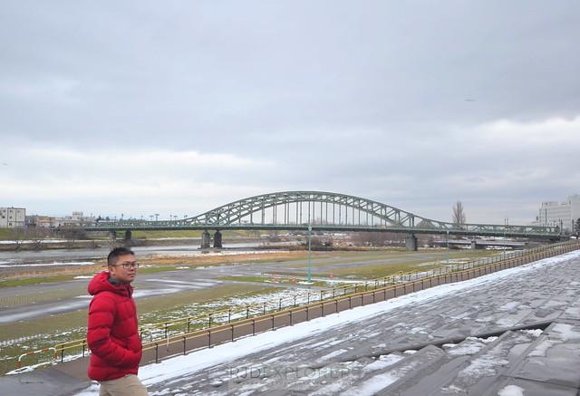 hokkaido itinerary Asabashi Bridge
