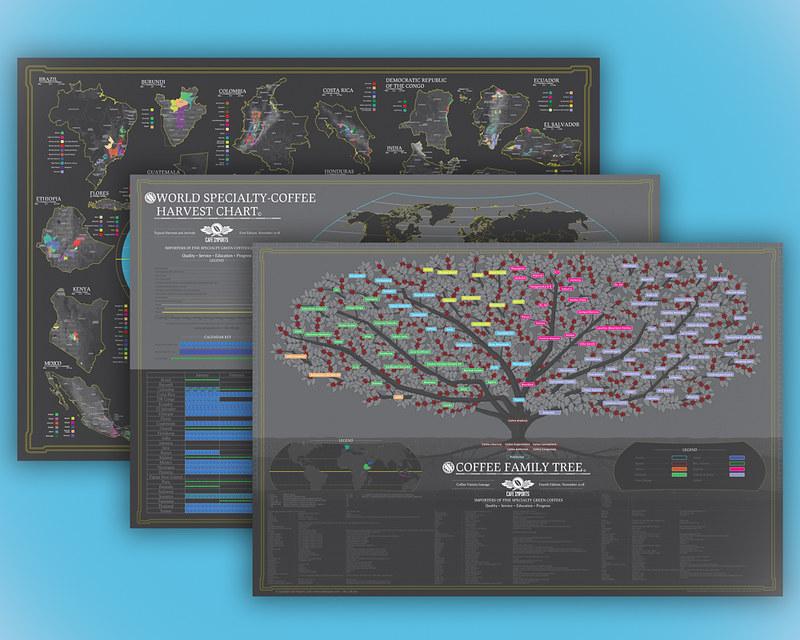 Bản đồ cà phê thế giới - World Coffee Map (3)