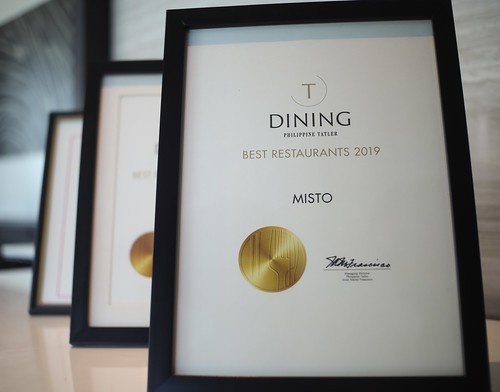 Misto is part of Philippine Tatler Dining's Best Restaurants for three years in a row (1)