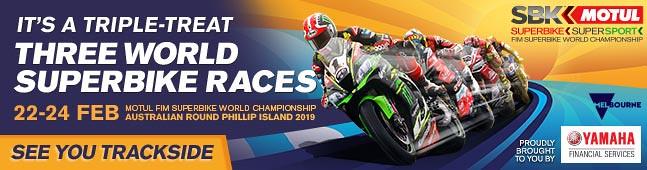 Watch WSBK 2019 Round 1 – Phillip Island Grand Prix Circuit