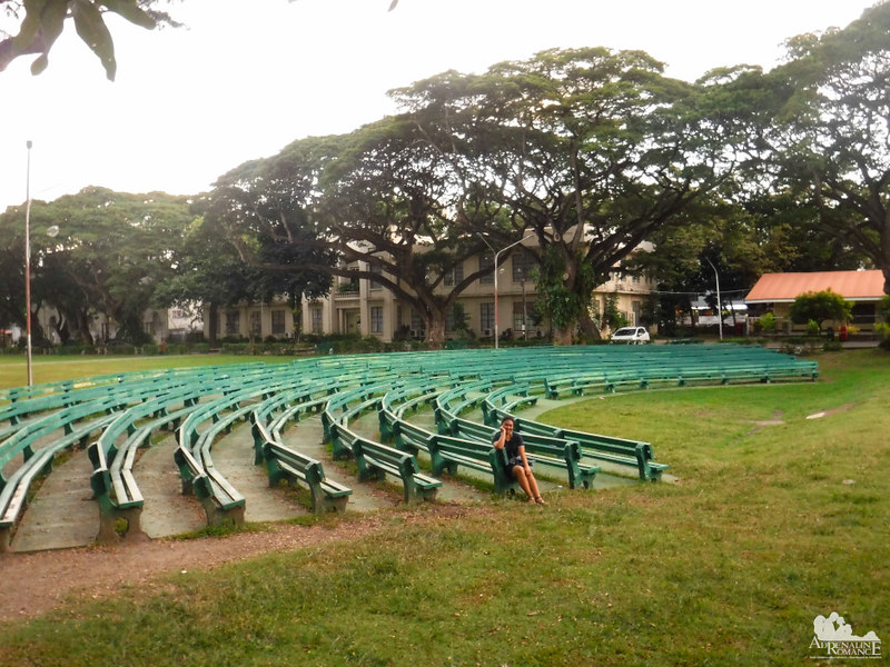 Outdoor amphitheater of Silliman