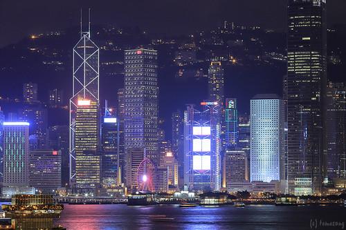 """Hong Kong West Kowloon Station """"Sky Corridor"""""""