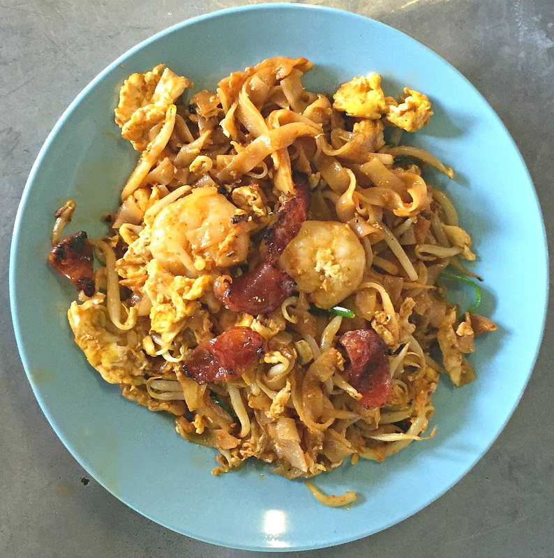 Char Kway Teow Singapore Cuisine
