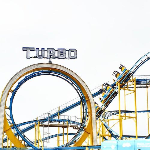 Turbo - montagne russe del