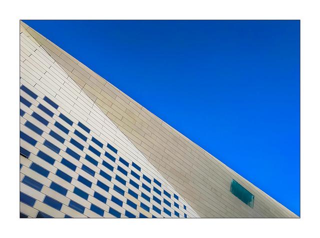 La diagonale bleu