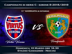 Virtus Verona - FeralpiSalò 2-1 FINALE