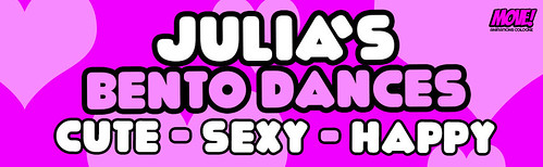 NEW SEXY GIRLS BENTO DANCES from JULIA OUT NOW @ MOVE!