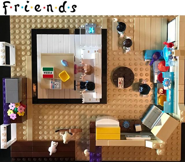 friends lego set tv show