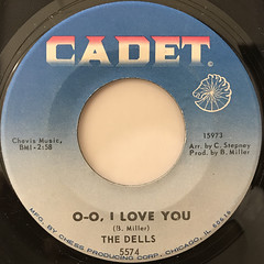THE DELLS:O-O, I LOVE YOU(LABEL SIDE-A)