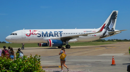 AIRBUS A320 (SC-AWD) JETSMART | EL PALOMAR AIRPORT | BUENOS AIRES | EPA-SADP