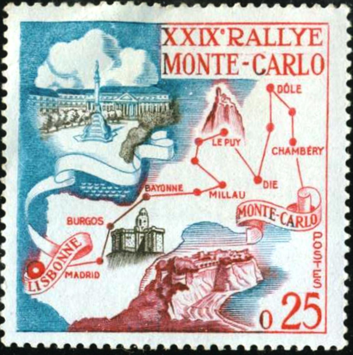 Monaco - Scott #460 (1960)