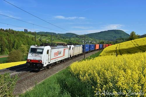 BR 186 902 & 908, Hornussen (CH)
