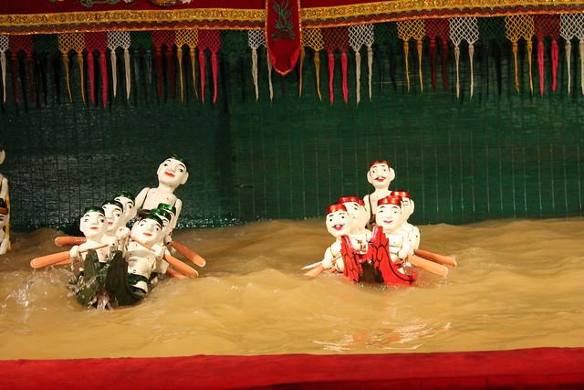 Marionetas de Agua en Vietnam