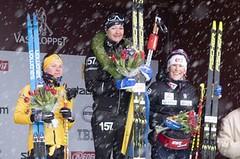 Kateřina Smutná vybojovala třetí místo na slavném Vasově běhu