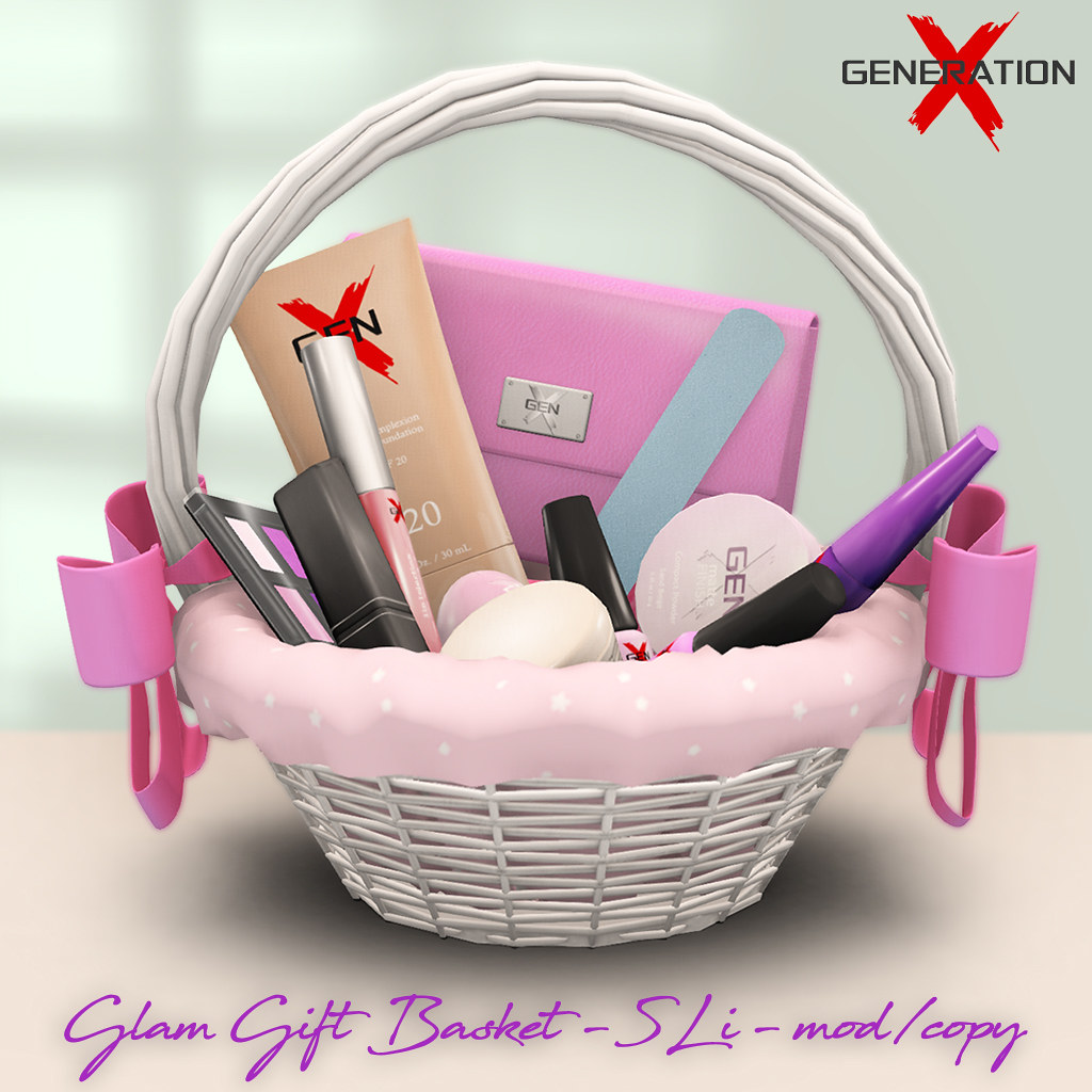 [ Generation X ] Glam Gift Basket