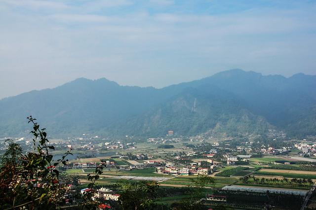 竹山口山遠眺月光山稜脈 3