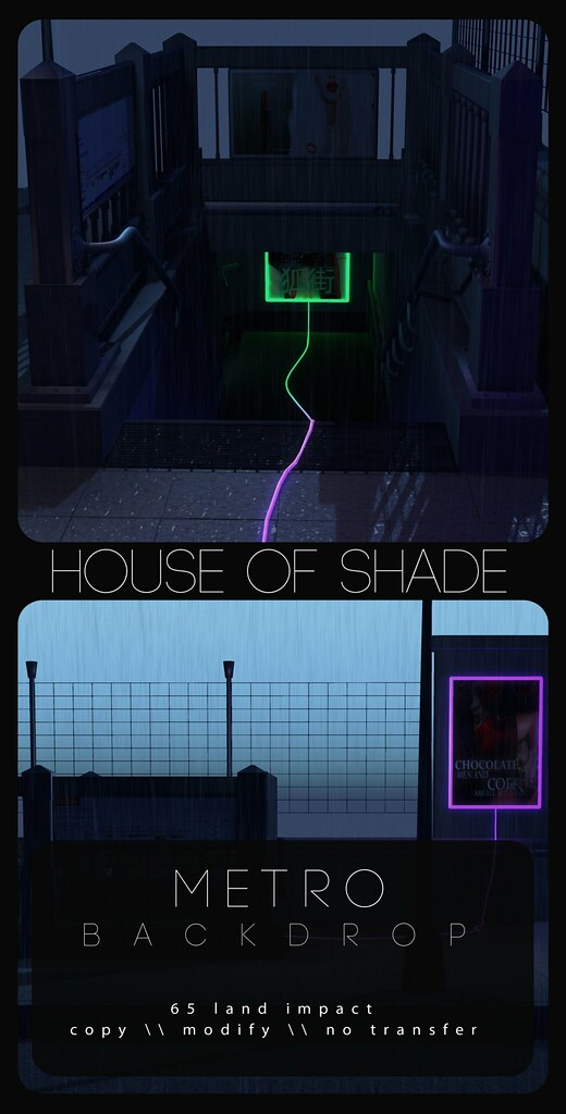 House of Shade - Metro AD - TeleportHub.com Live!