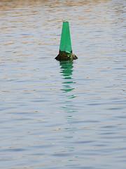 Green Buoy in Jaffa Port