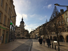 La rue de Paris et le Beffroi - Photo of Thionville