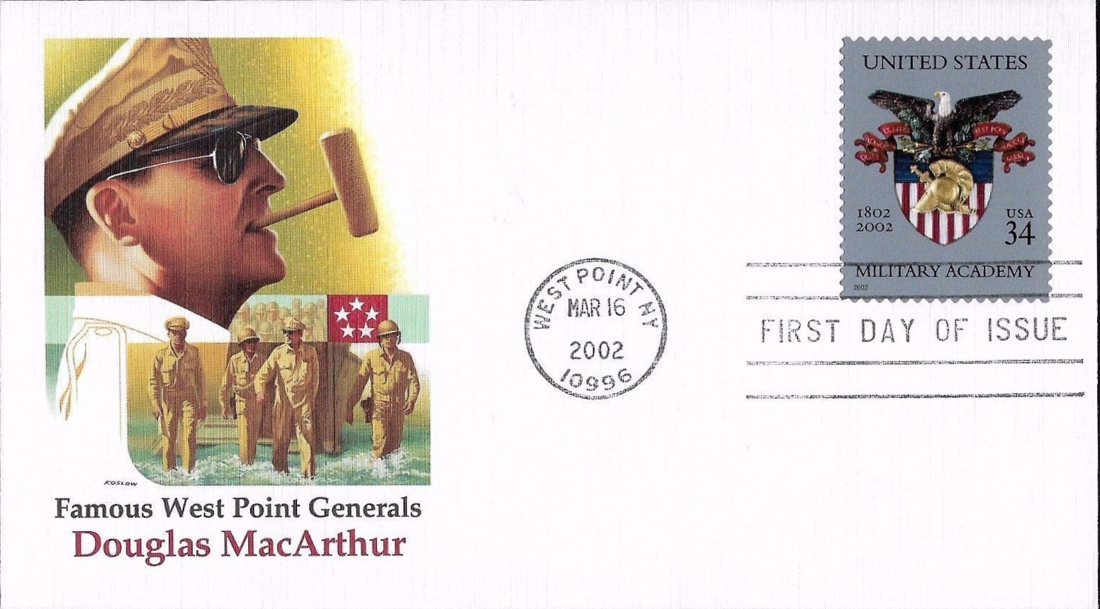 United States - Scott #3560 (2002) first day cover, Fleetwood cachet