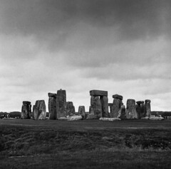 Image by John.R.Taylor (www.cloudedout.squarespace.com) (skywatcher150) and image name Stonehenge photo  about Yashica Mat 124G, Fomapan 200 in Rodinal