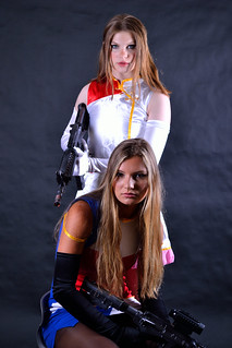 Elle and Emily Kiddy Grade Photoshoot Part 2
