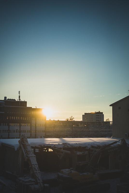 Winter sun-2