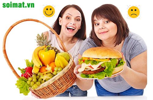 Người bị sỏi mật nên ăn nhiều rau xanh, hoa quả; tránh ăn nhiều chất béo, thức ăn nhanh
