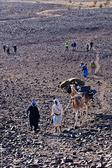 Vers le col (Adrar, Mauritanie)