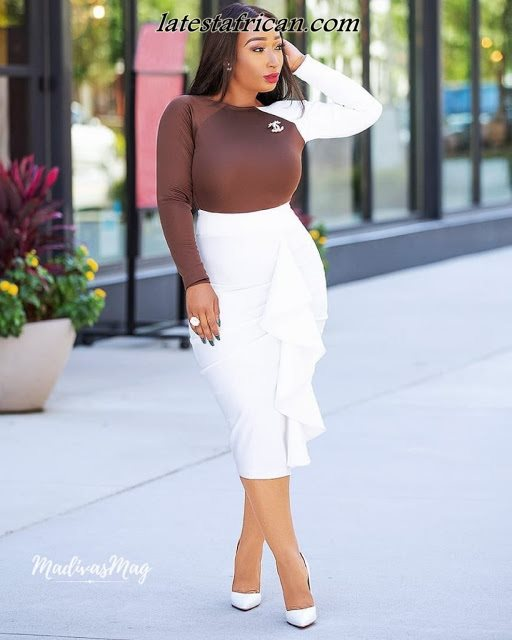 African Styles Office Outfit For Ladies 2019