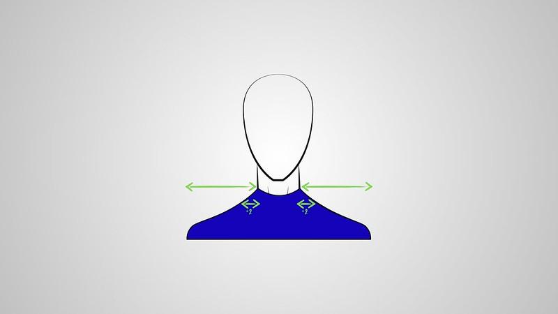 Cuello redondo ajustado
