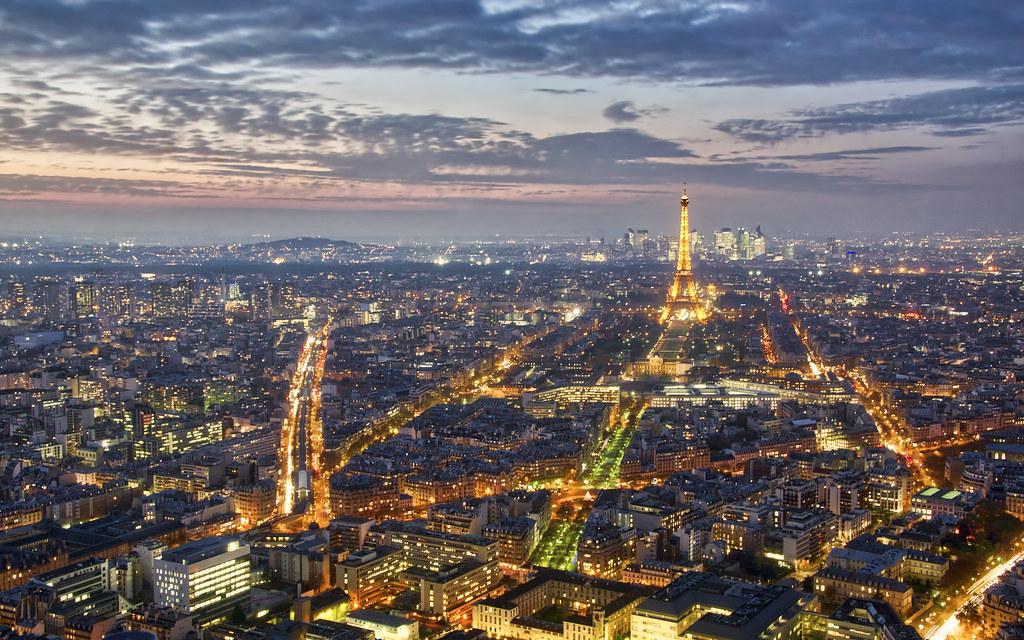 Boulevard Garibaldi et la Tour Eiffel