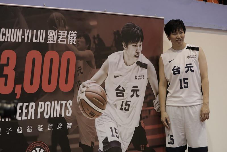 劉君儀生涯3000分達標。(籃協提供)