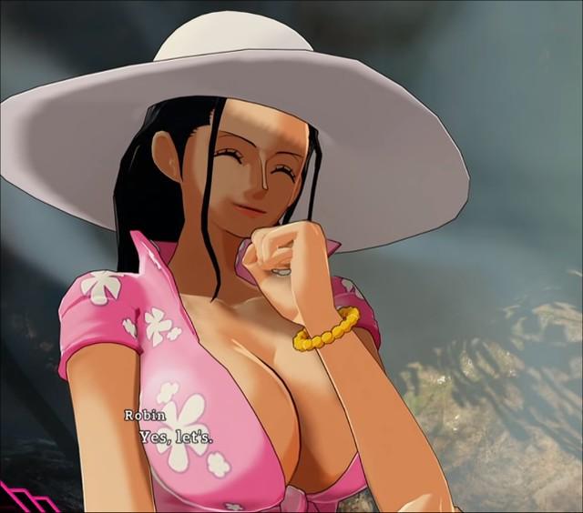 One Piece World Seeker - Robin Boobs