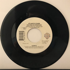 ATLANTIC STARR:ALWAYS(RECORD SIDE-A)