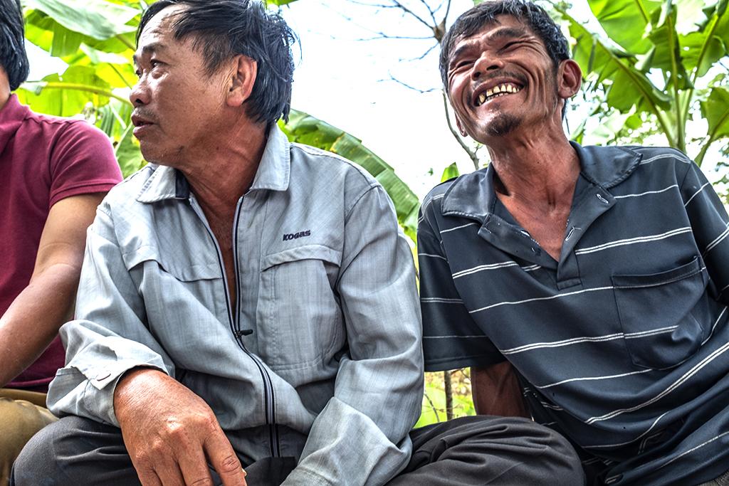 Laughing fisherman--Krong Buk