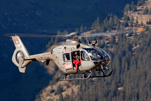 Swiss Air Force Eurocopter EC135