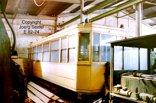 BE-3630 Maasmechelen Armand Lowie  Straßenbahn Brüssel STIB 1342  im März  1991