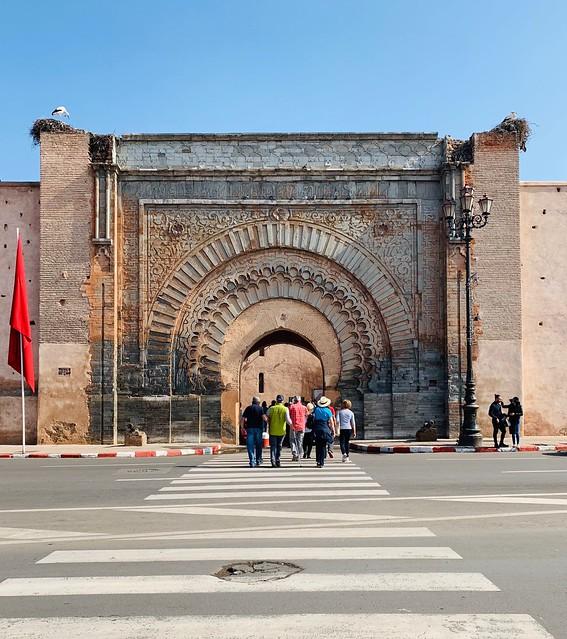 Medina di Marrakech: una delle entrate