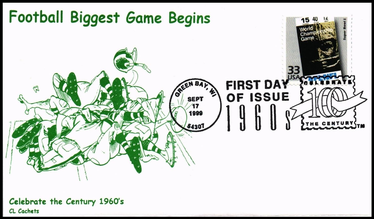 United States - Scott #3188l (1999) first day cover