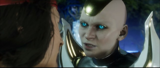 Mortal Kombat 11 - bald chick