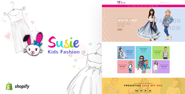 Susie v1.1 - Kids Fashion Sectioned Shopify Theme