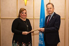 NEW PERMANENT REPRESENTATIVE OF BOSNIA AND HERZEGOVINA PRESENTS CREDENTIALS TO THE DIRECTOR-GENERAL OF THE UNITED NATIONS OFFICE AT GENEVA