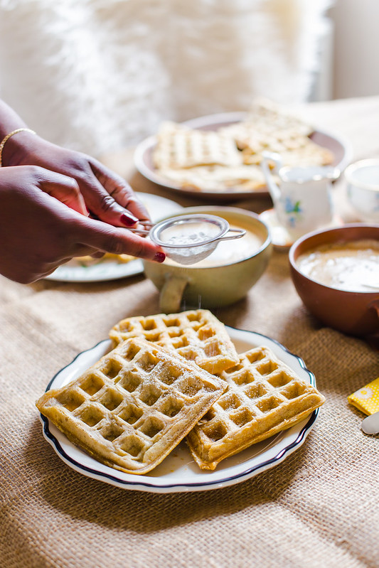 Overnight Yeast-Raised Waffles