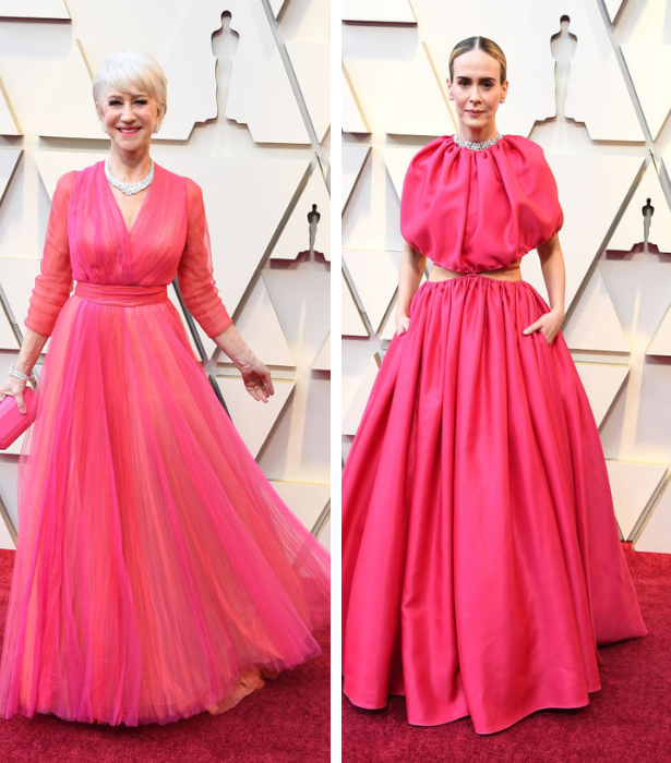 Oscars 2019 Pretty in Pink 4