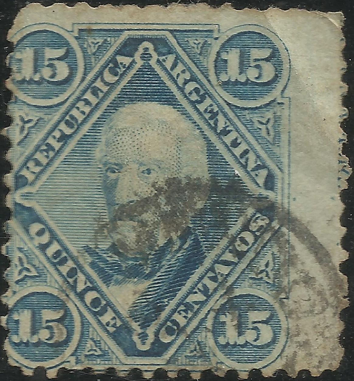 Argentina - Scott #19 (1867)
