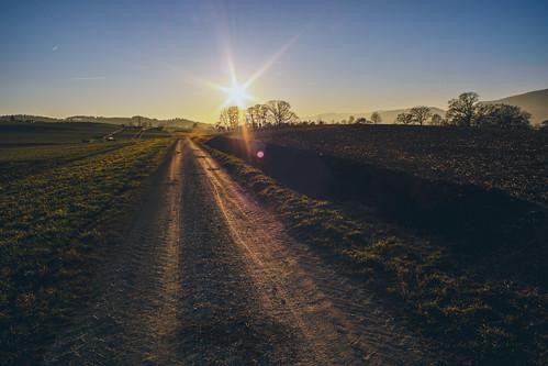 Way to the Evening Sun