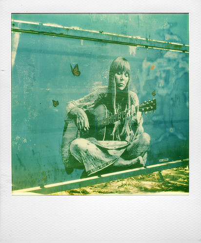 Joni Mitchell by  Jef Aerosol at Marquette-lez-Lille