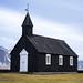 Búðakirkja - Buðir Black Church by eoghanh15
